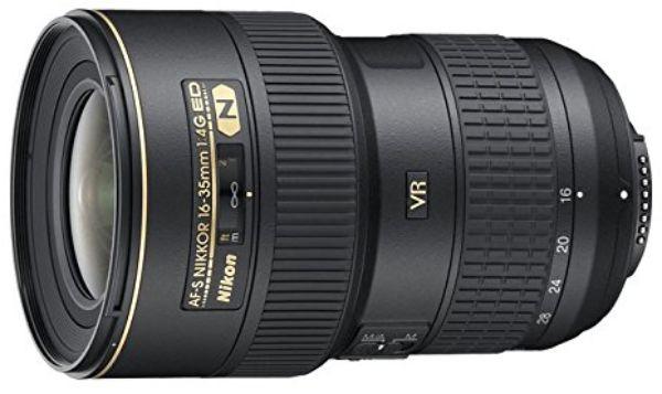 Nikon AF-S 16-35mm f4G ED VR Lens