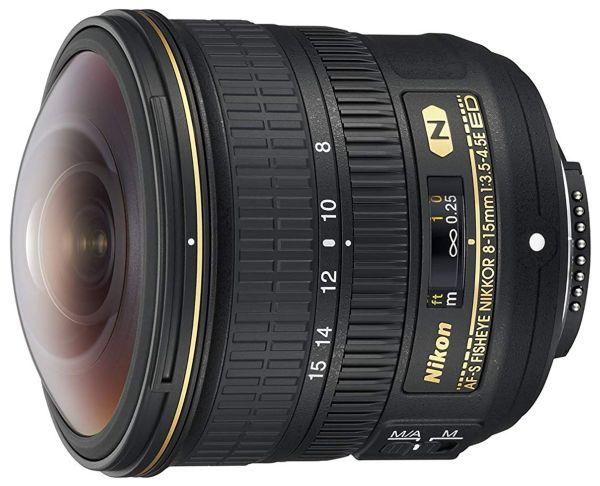Nikon AF-S Fisheye Nikkor 8-15mm f3.5-4.5E ED