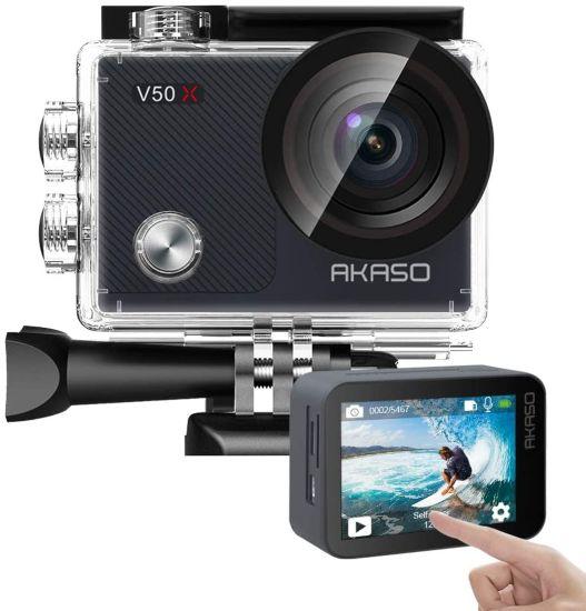 AKASO V50X Native 4K 30fps WiFi Action Camera