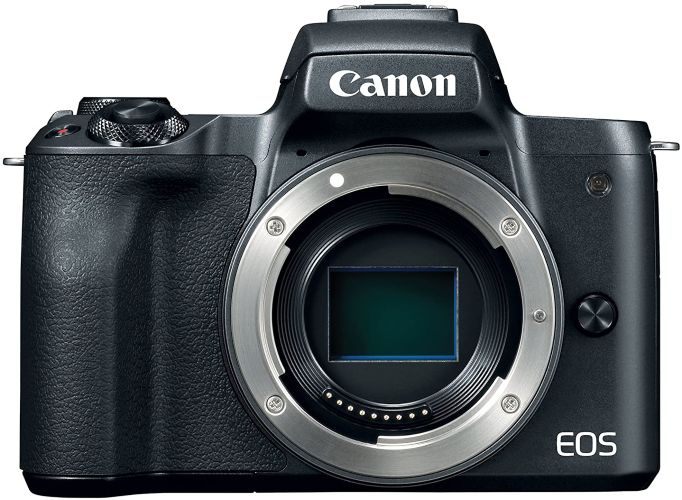 Canon EOS M50 Mirrorless Digital 4K Camera