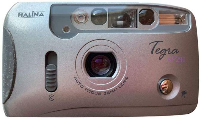 Halina Tegra AF290 35mm Film Camera