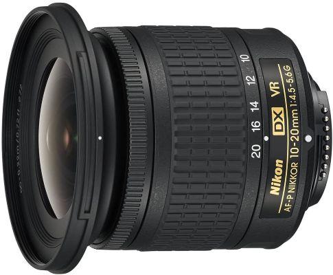 Nikon AF-P DX NIKKOR 10-20mm f4.5-5.6G VR Lens