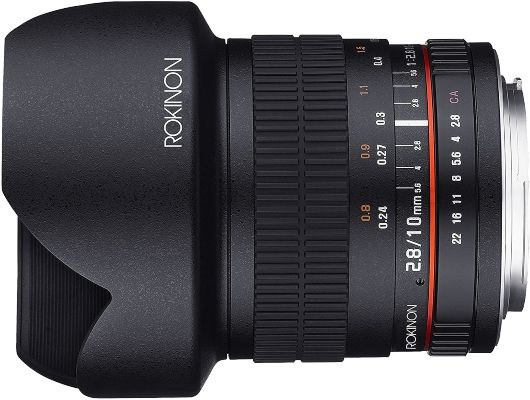 Rokinon 10mm F2.8 ED Ultra Wide Angle Lens