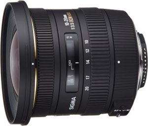 Sigma 10-20mm f3.5 Aspherical Super Wide Angle Lens