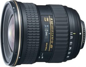 Tokina 11-16mm f2.8 AT-X116 Pro DX II Digital Zoom Lens