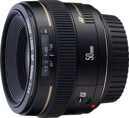 Canon EF 50mm f 1.4 USM Lens