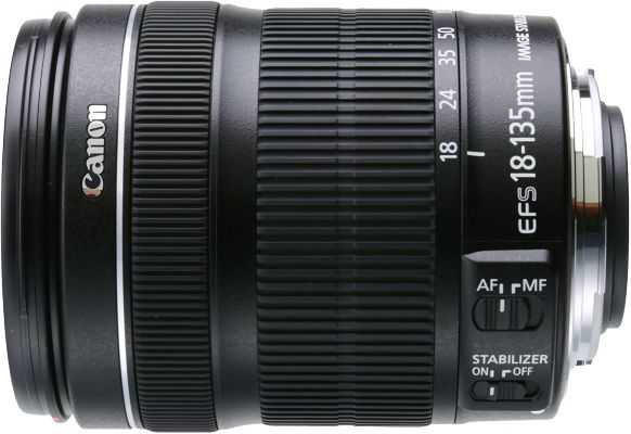 Canon EF-S 18-135mm f 3.5-5.6 IS STM Lens