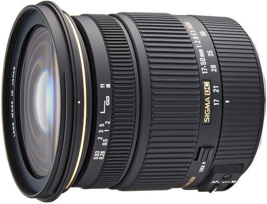 Sigma 17-50mm f 2.8 EX DC OS Lens