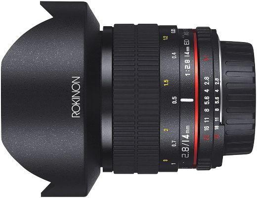 Rokinon 14mm f 2.8 Ultra Wide Angle Lens