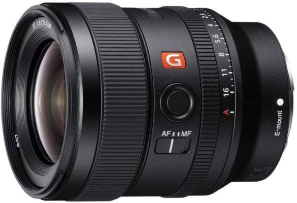 Sony FE 24mm F1.4 GM Full Frame Wide-angle Prime Lens